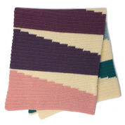 Patons Wedge It Crochet Blanket
