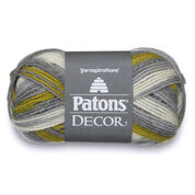 Patons Decor Yarn, Frond Variegate - Clearance Shades*