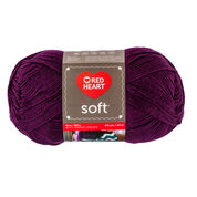 Go to Product: Red Heart Soft Yarn (283 g/10 oz), Grape in color Grape