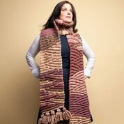 Go to Product: Caron Chunky Crochet Short-Row Scarf in color