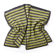 Go to Product: Caron Textured Stripes Crochet Ruana in color