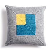 Go to Product: Caron Crazy Corners Knit Pillow in color