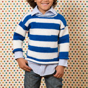 Red Heart Game Day Knit Sweater, 2 yrs