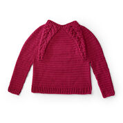Go to Product: Caron Branching Out Crochet Pullover, XS/S in color