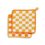 Go to Product: Peaches & Crème Keep in Check Crochet Cloth, Version 1 in color
