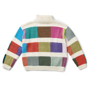 Caron x Pantone Color Swatch Knit Sweater, M