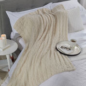Red Heart Knit Nesting Throw
