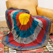 Go to Product: Red Heart Radiance Knit Throw in color