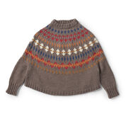 Go to Product: Patons Leslieville Knit Swoncho, XS/S/M in color