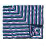 Caron Granny Goes Bright Crochet Blanket