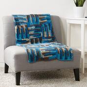 Caron Parquet Tiles Crochet Blanket