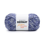 Go to Product: Bernat Softee Chunky Twist Yarn (300g/10.5oz), Midnight in color Midnight
