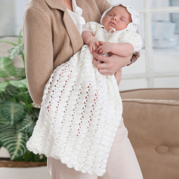 Crochet gown Baby Josie christening pattern blessing gown thread baptism gown baby blessing outfit pdf downloadable crochet pattern