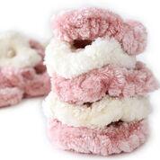 Go to Product: Bernat Velvet Plus Scrunchies , Cream in color