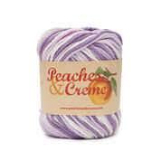 Peaches & Creme Ombres Yarn, Pansy - Clearance Shades*