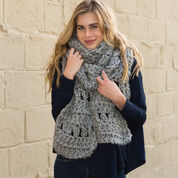 Red Heart Crochet Super Simple Scarf