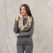 Red Heart Alluring Arm Knit Cowl