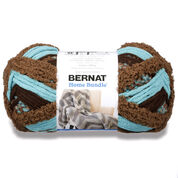 Bernat Home Bundle Yarn, Teal Brown