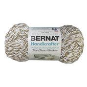 Bernat Handicrafter Cotton Twists Yarn, Mushroom Twists - Clearance Shades*
