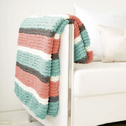 Bernat Get Fresh Throw, Misty Green