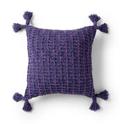 Go to Product: Bernat Woven Waffles Crochet Pillow in color