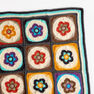 Red Heart Flower Power Blanket in color  Thumbnail Main Image 1}