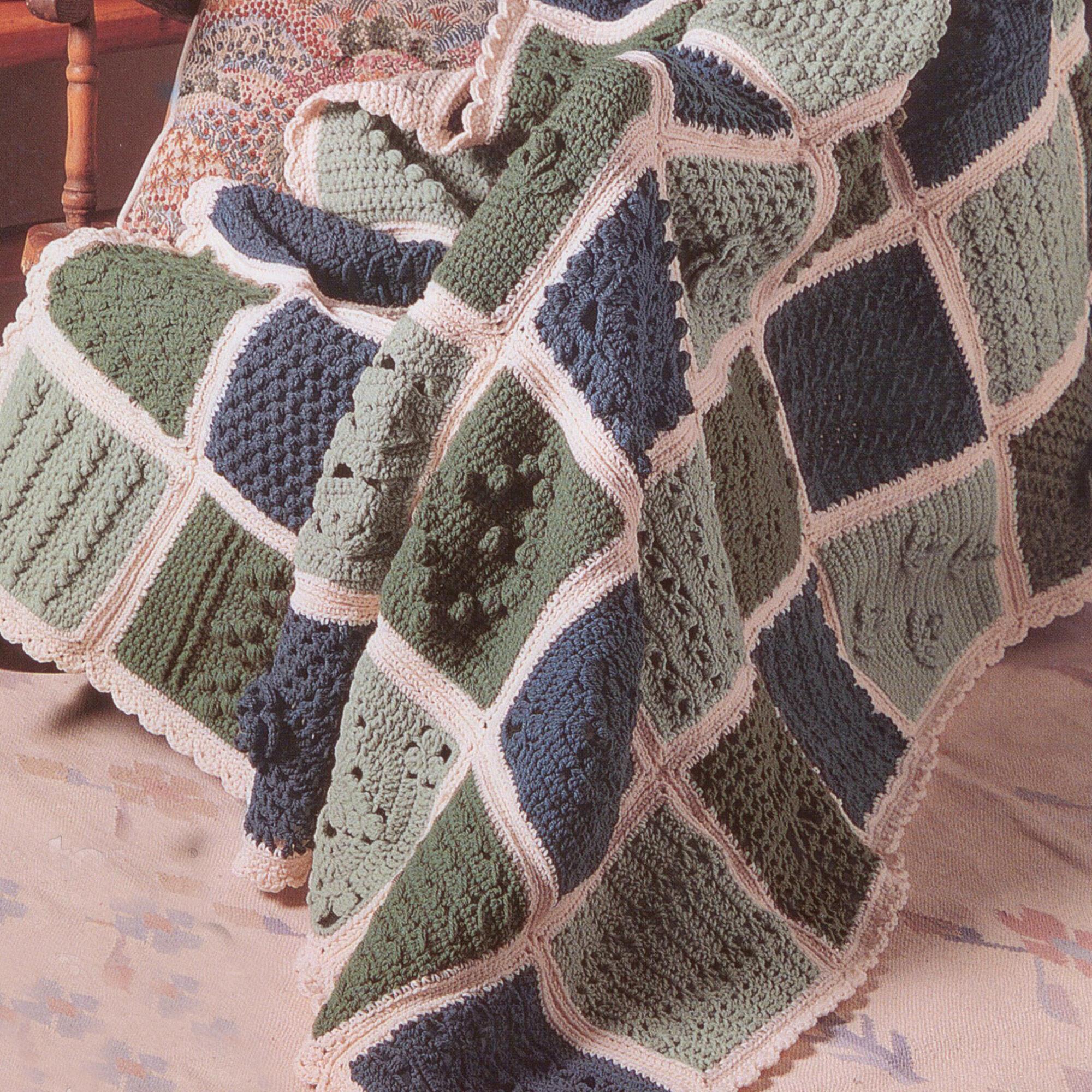 Patons Sampler Afghan To Crochet Yarnspirations