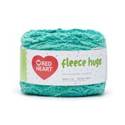 Go to Product: Red Heart Fleece Hugs Yarn in color Caribbean
