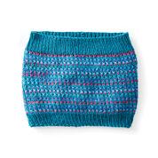 Caron Let It Slip Knit Cowl