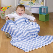 Go to Product: Red Heart Heaven Sent Baby Blanket in color