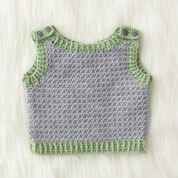 Patons Elfin Hat and Vest Set, Vest - 6 mos