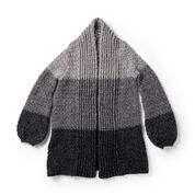 Patons Cozy Crochet Cardigan, XS/S