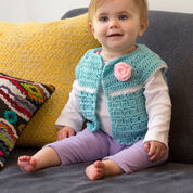 Go to Product: Red Heart Sweet Abby's Baby Sweater, 6 mos in color