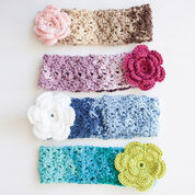 Go to Product: Caron Cozy Posy Headband, Saturday Blue Jeans in color