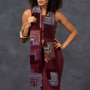 Red Heart Mitered Square Scarf