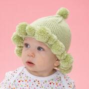 Bernat Pompom Baby Hat