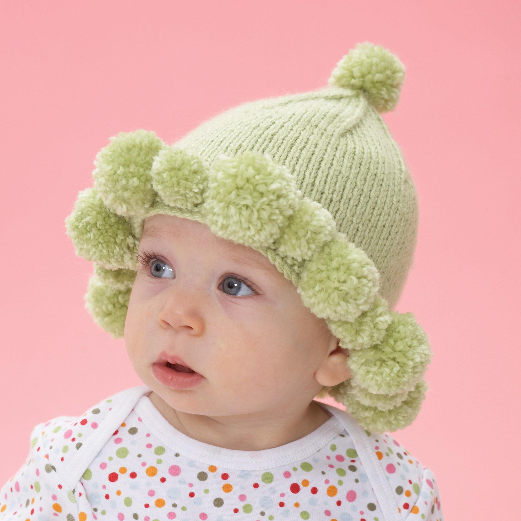 716f2dadbfb Bernat Pompom Baby Hat ...