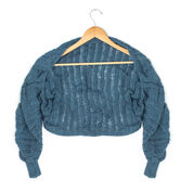 Go to Product: Caron Cuffed Dolman Shrug, S in color