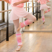 Go to Product: Red Heart Shades of Pink Leg Warmers, 4 yrs in color