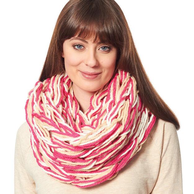 Bernat Arm Knit Cowl in color
