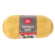 Go to Product: Red Heart Fashion Soft Yarn, Flax in color Flax