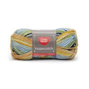 Red Heart Hopscotch Yarn, Scooter