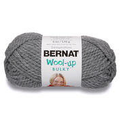 Go to Product: Bernat Wool-Up Bulky Yarn in color Light Gray