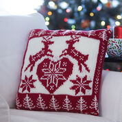 Go to Product: Bernat Nordic Holiday Pillow in color