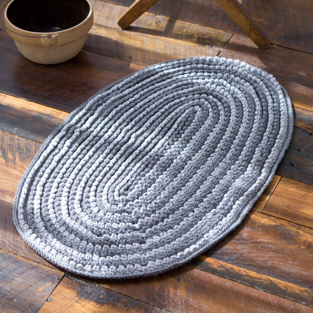 Red Heart Millennium Loop Rug in color