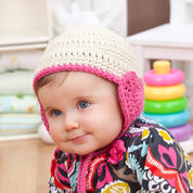 Red Heart Lovey Hat for Baby