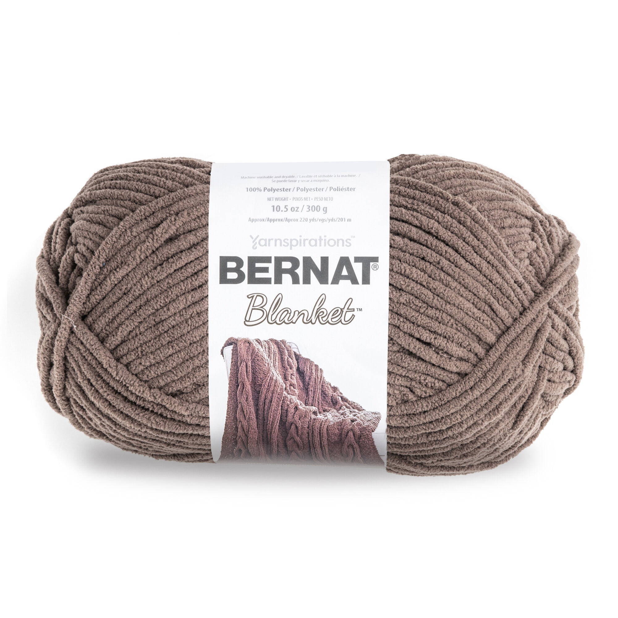 Bernat Blanket Big Ball Yarn-Orchid Dusk