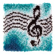 Go to Product: Wonderart Treble Clef Kit 12 x 12 in color Treble Clef