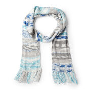 Go to Product: Red Heart Faux Fair Isle Knit Scarf in color