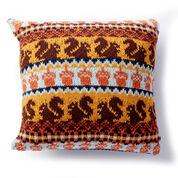 Patons Autumn Harvest Knit Pillow